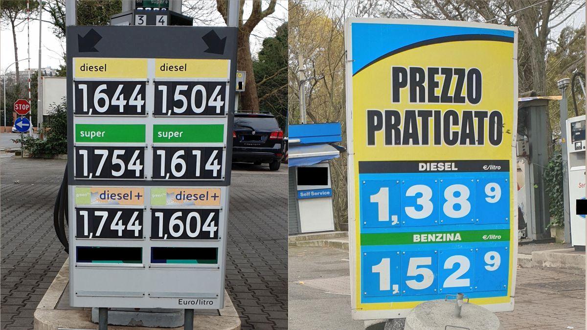 cartelloni prezzi carburanti 2